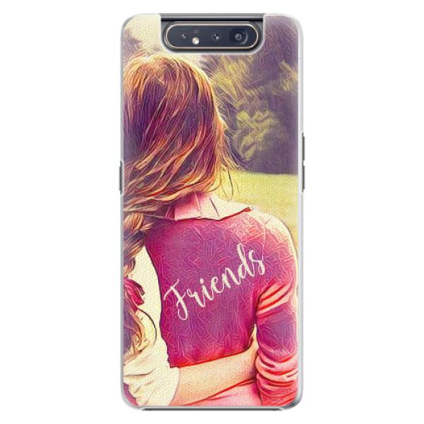 Plastové pouzdro iSaprio - BF Friends - Samsung Galaxy A80