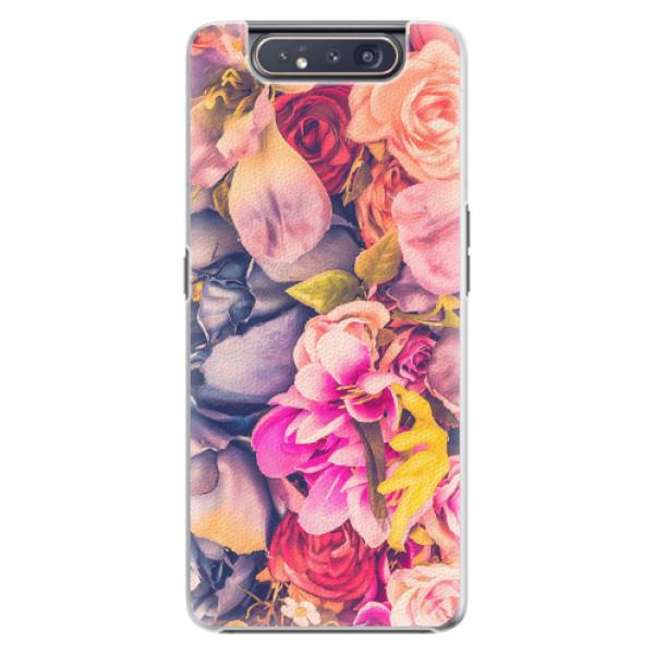 Plastové pouzdro iSaprio - Beauty Flowers - Samsung Galaxy A80