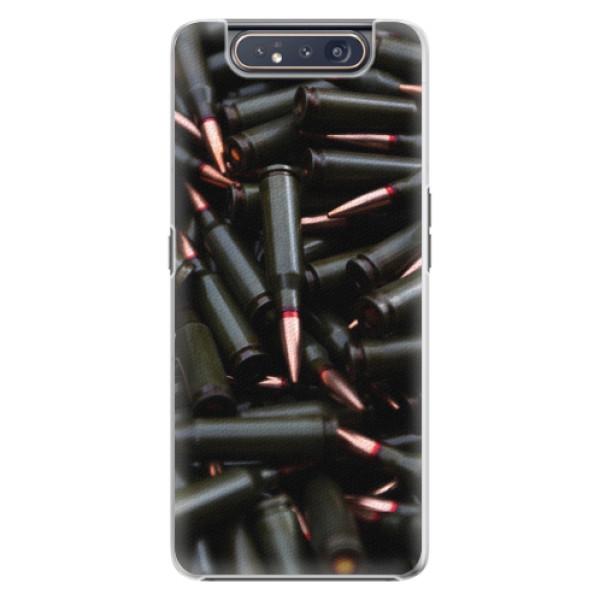 Plastové pouzdro iSaprio - Black Bullet - Samsung Galaxy A80