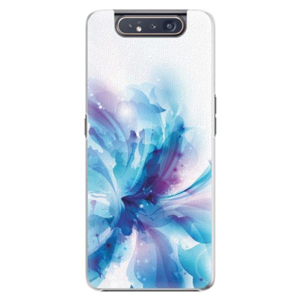 Plastové pouzdro iSaprio - Abstract Flower - Samsung Galaxy A80