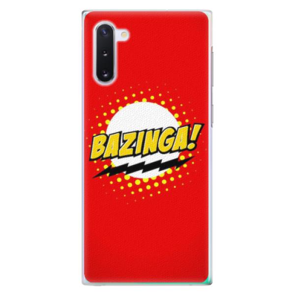 Plastové pouzdro iSaprio - Bazinga 01 - Samsung Galaxy Note 10