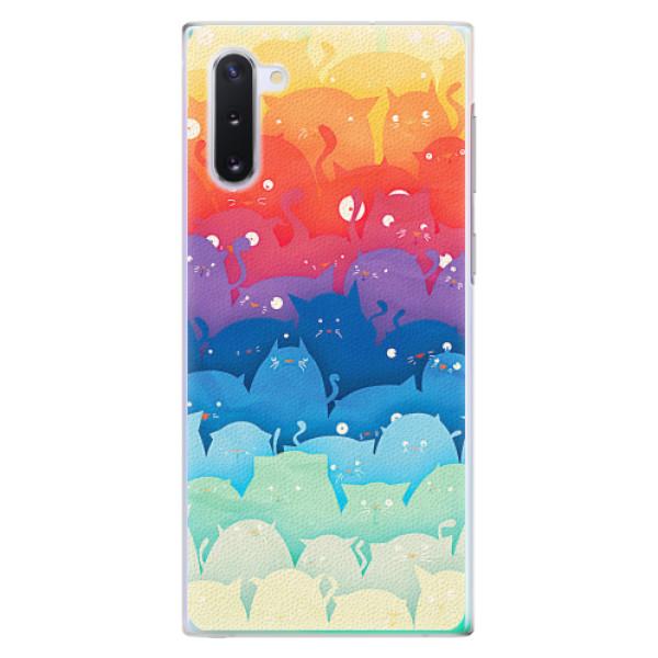 Plastové pouzdro iSaprio - Cats World - Samsung Galaxy Note 10