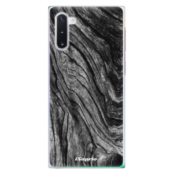 Plastové pouzdro iSaprio - Burned Wood - Samsung Galaxy Note 10