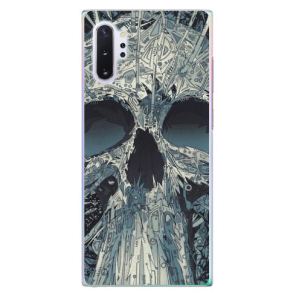 Plastové pouzdro iSaprio - Abstract Skull - Samsung Galaxy Note 10+