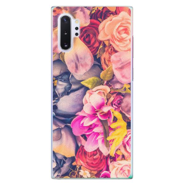 Plastové pouzdro iSaprio - Beauty Flowers - Samsung Galaxy Note 10+