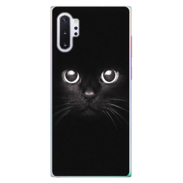 Plastové pouzdro iSaprio - Black Cat - Samsung Galaxy Note 10+