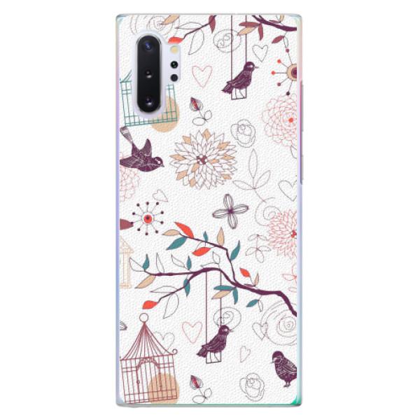 Plastové pouzdro iSaprio - Birds - Samsung Galaxy Note 10+