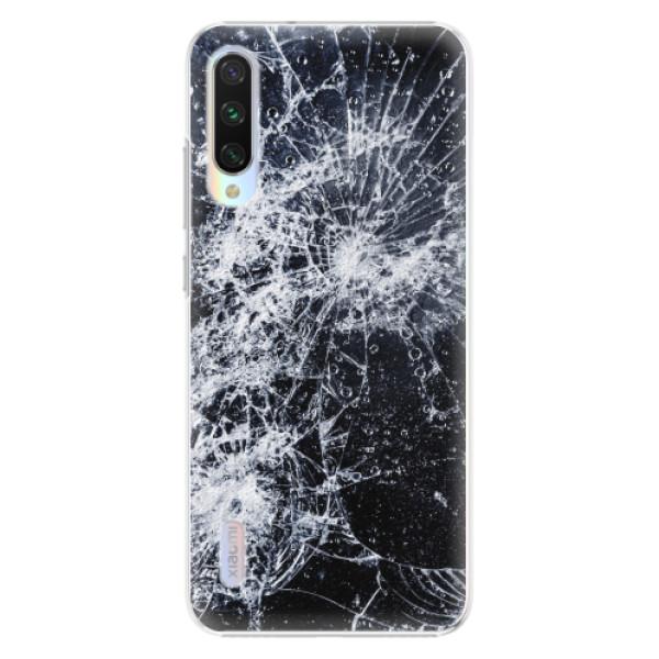 Plastové pouzdro iSaprio - Cracked - Xiaomi Mi A3