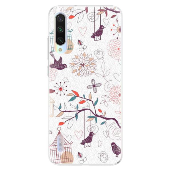 Plastové pouzdro iSaprio - Birds - Xiaomi Mi A3