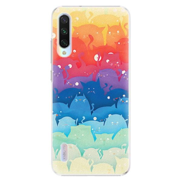 Plastové pouzdro iSaprio - Cats World - Xiaomi Mi A3