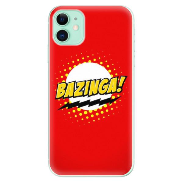 Odolné silikonové pouzdro iSaprio - Bazinga 01 - iPhone 11