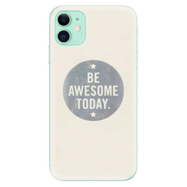 Odolné silikonové pouzdro iSaprio - Awesome 02 - iPhone 11
