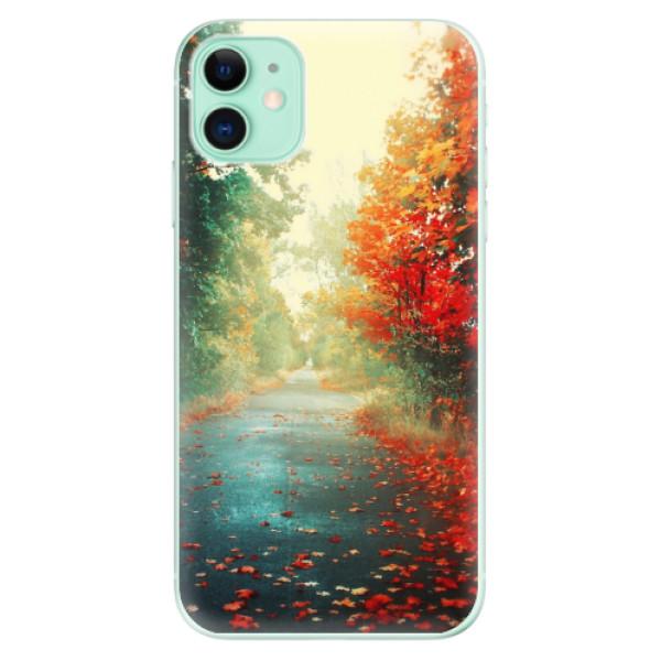 Odolné silikonové pouzdro iSaprio - Autumn 03 - iPhone 11