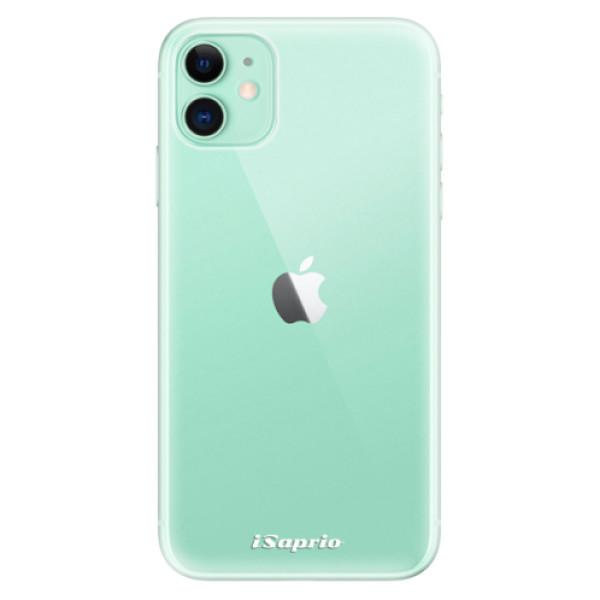 Odolné silikonové pouzdro iSaprio - 4Pure - mléčný bez potisku - iPhone 11