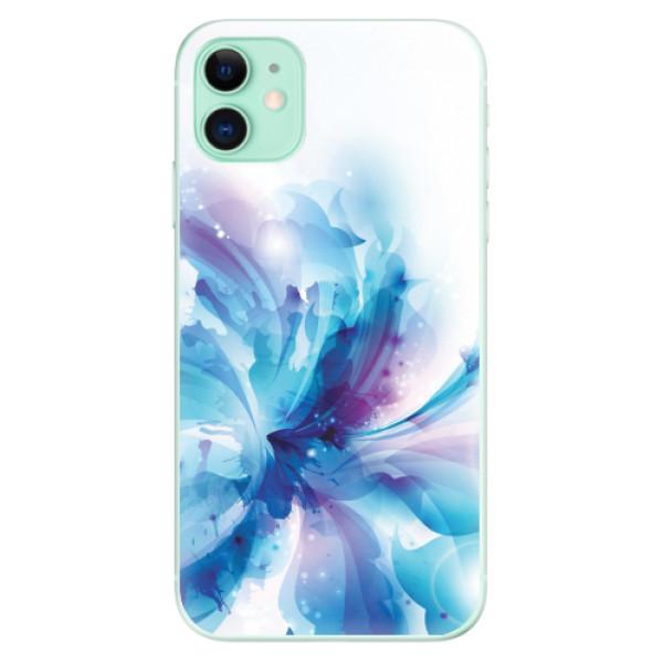 Odolné silikonové pouzdro iSaprio - Abstract Flower - iPhone 11
