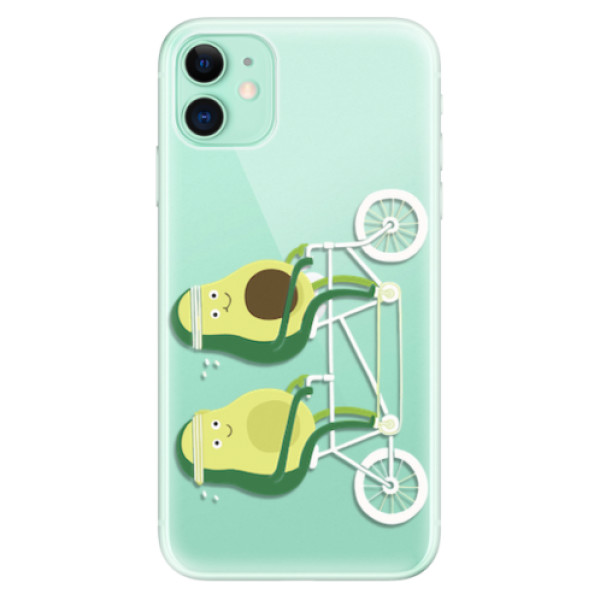 Odolné silikonové pouzdro iSaprio - Avocado - iPhone 11