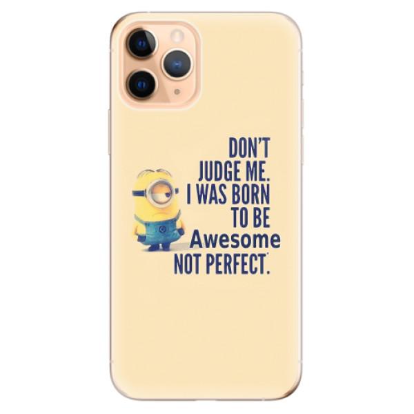 Odolné silikonové pouzdro iSaprio - Be Awesome - iPhone 11 Pro