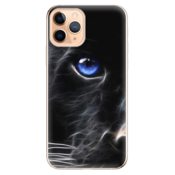 Odolné silikonové pouzdro iSaprio - Black Puma - iPhone 11 Pro