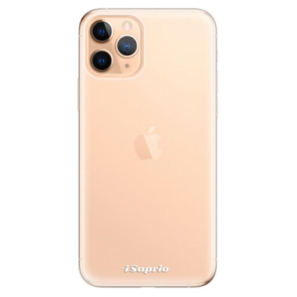 Odolné silikonové pouzdro iSaprio - 4Pure - mléčný bez potisku - iPhone 11 Pro