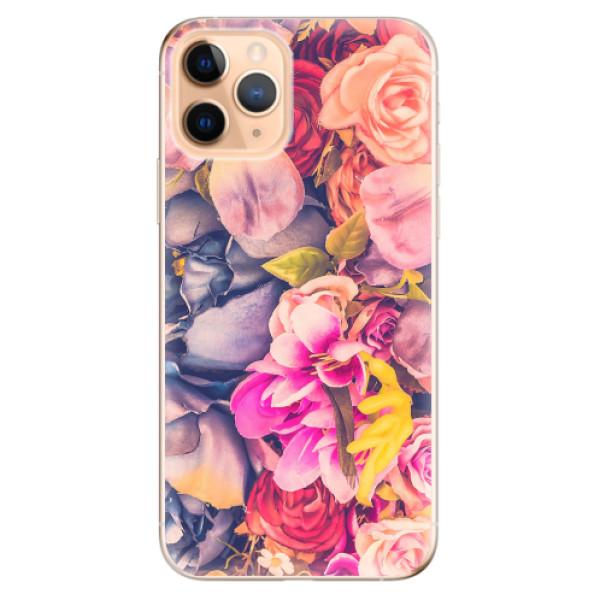 Odolné silikonové pouzdro iSaprio - Beauty Flowers - iPhone 11 Pro