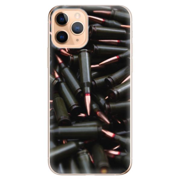 Odolné silikonové pouzdro iSaprio - Black Bullet - iPhone 11 Pro