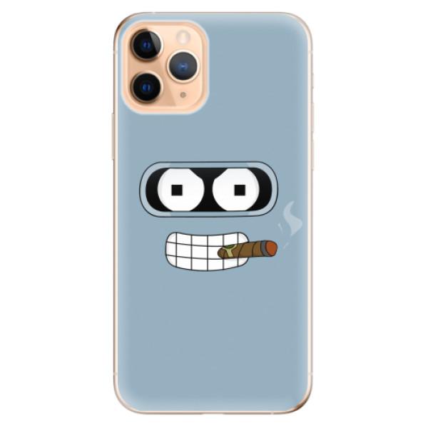 Odolné silikonové pouzdro iSaprio - Bender - iPhone 11 Pro