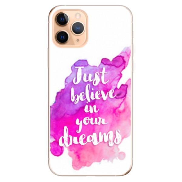 Odolné silikonové pouzdro iSaprio - Believe - iPhone 11 Pro