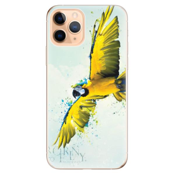 Odolné silikonové pouzdro iSaprio - Born to Fly - iPhone 11 Pro