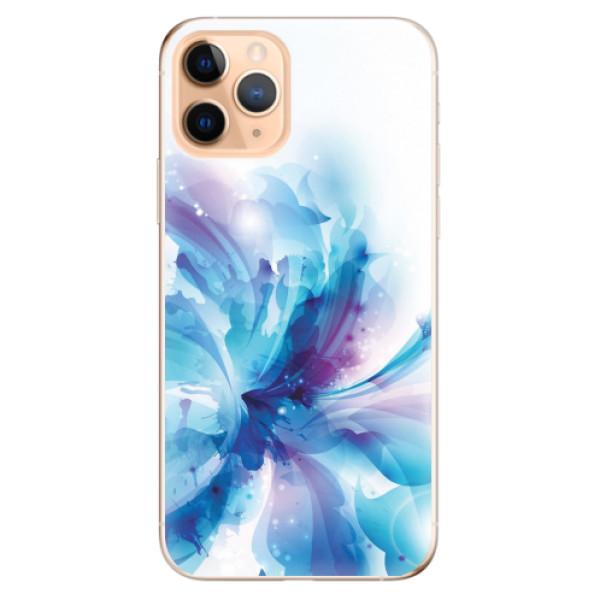 Odolné silikonové pouzdro iSaprio - Abstract Flower - iPhone 11 Pro