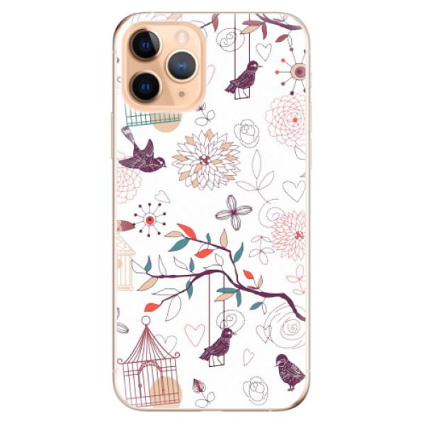 Odolné silikonové pouzdro iSaprio - Birds - iPhone 11 Pro