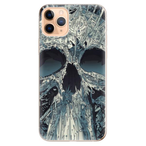 Odolné silikonové pouzdro iSaprio - Abstract Skull - iPhone 11 Pro Max