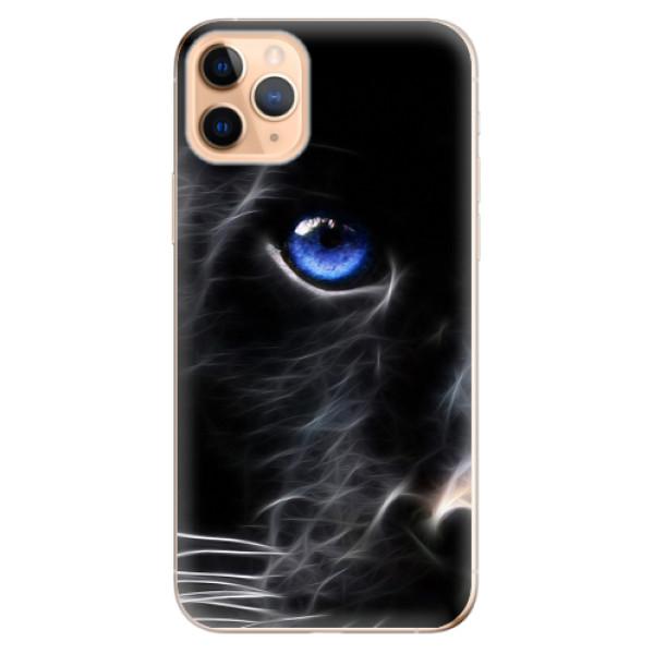 Odolné silikonové pouzdro iSaprio - Black Puma - iPhone 11 Pro Max