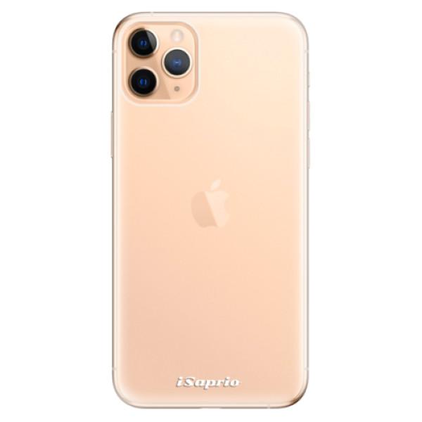 Odolné silikonové pouzdro iSaprio - 4Pure - mléčný bez potisku - iPhone 11 Pro Max