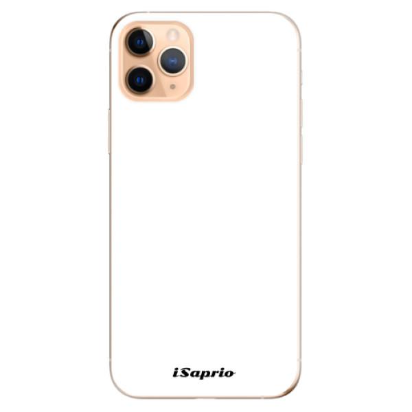 Odolné silikonové pouzdro iSaprio - 4Pure - bílý - iPhone 11 Pro Max