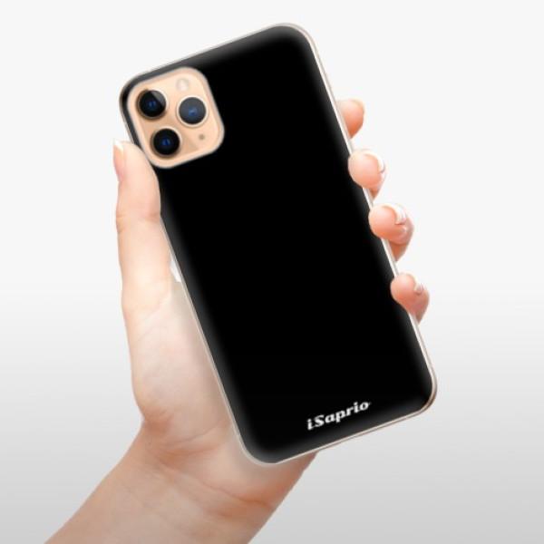 Odolné silikonové pouzdro iSaprio - 4Pure - černý - iPhone 11 Pro Max