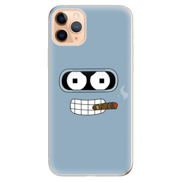 Odolné silikonové pouzdro iSaprio - Bender - iPhone 11 Pro Max