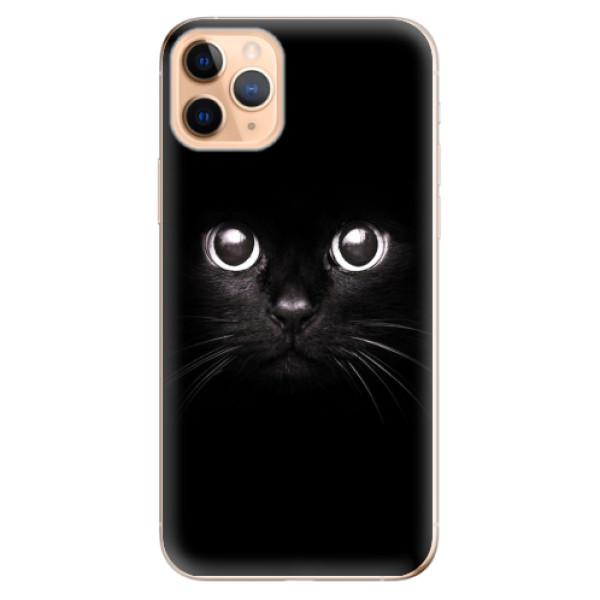Odolné silikonové pouzdro iSaprio - Black Cat - iPhone 11 Pro Max