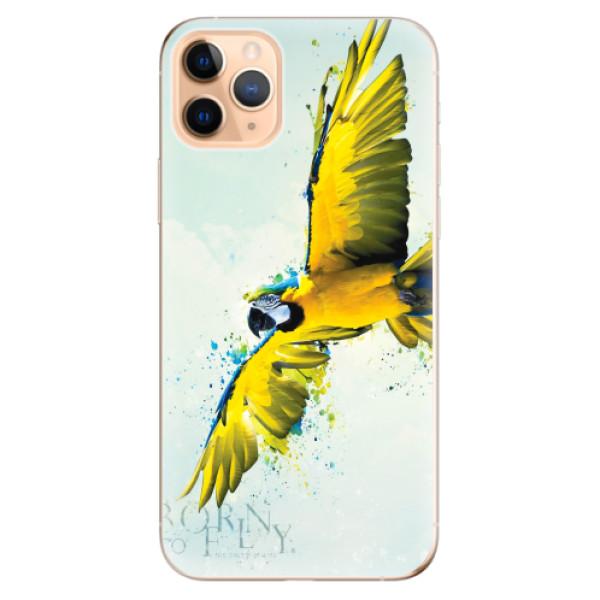 Odolné silikonové pouzdro iSaprio - Born to Fly - iPhone 11 Pro Max