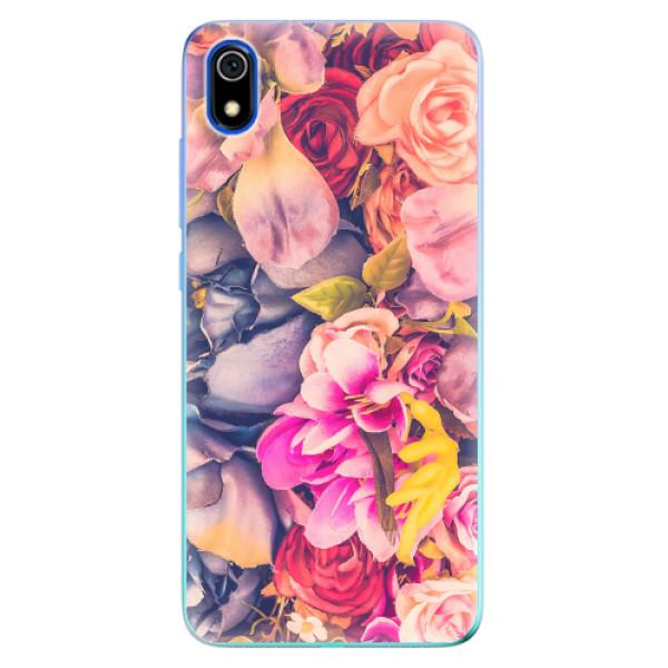 Odolné silikonové pouzdro iSaprio - Beauty Flowers - Xiaomi Redmi 7A