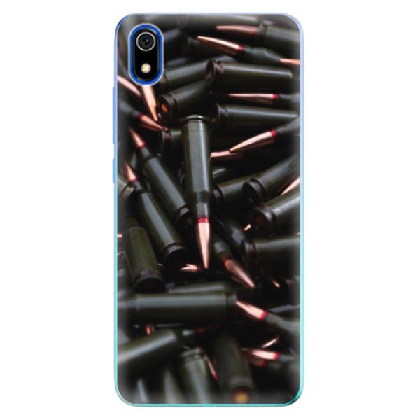 Odolné silikonové pouzdro iSaprio - Black Bullet - Xiaomi Redmi 7A