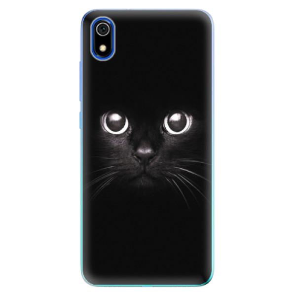 Odolné silikonové pouzdro iSaprio - Black Cat - Xiaomi Redmi 7A