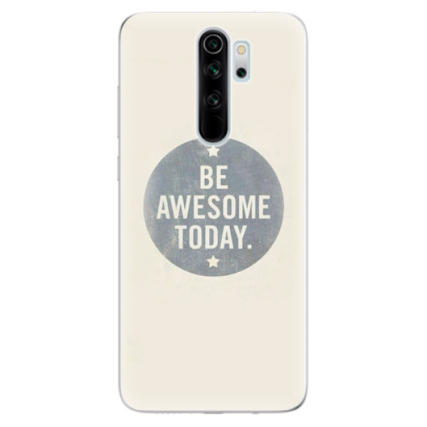 Odolné silikonové pouzdro iSaprio - Awesome 02 - Xiaomi Redmi Note 8 Pro