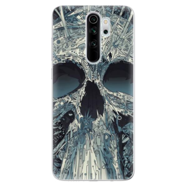 Odolné silikonové pouzdro iSaprio - Abstract Skull - Xiaomi Redmi Note 8 Pro