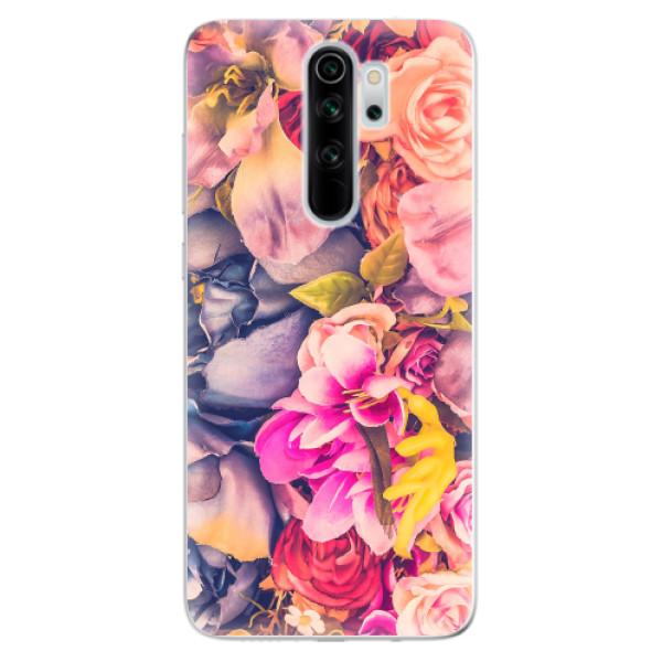 Odolné silikonové pouzdro iSaprio - Beauty Flowers - Xiaomi Redmi Note 8 Pro