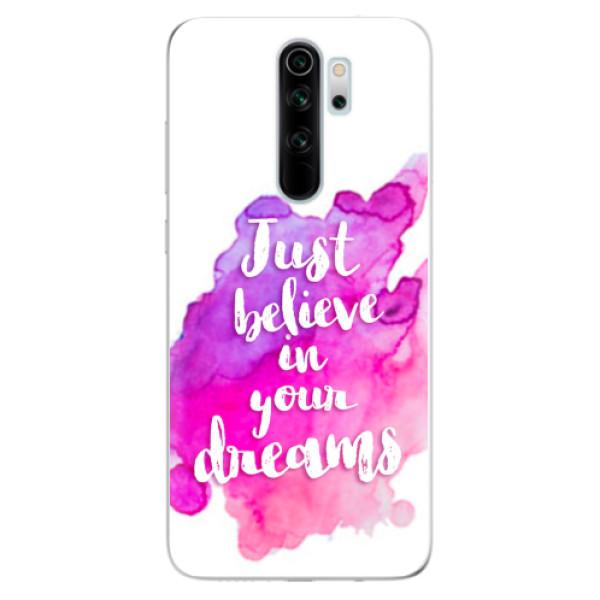 Odolné silikonové pouzdro iSaprio - Believe - Xiaomi Redmi Note 8 Pro