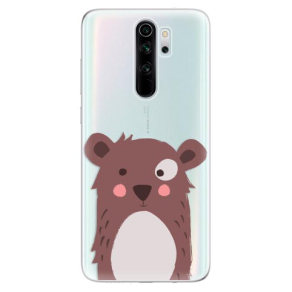 Odolné silikonové pouzdro iSaprio - Brown Bear - Xiaomi Redmi Note 8 Pro