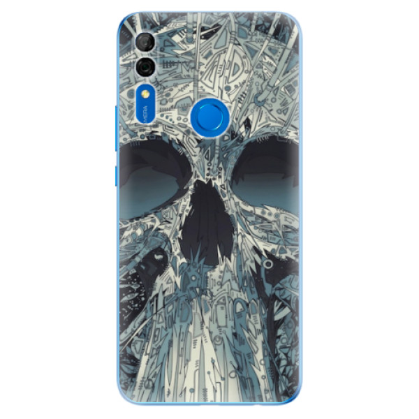 Odolné silikonové pouzdro iSaprio - Abstract Skull - Huawei P Smart Z