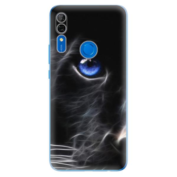 Odolné silikonové pouzdro iSaprio - Black Puma - Huawei P Smart Z
