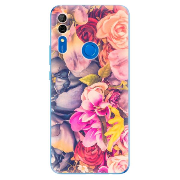 Odolné silikonové pouzdro iSaprio - Beauty Flowers - Huawei P Smart Z