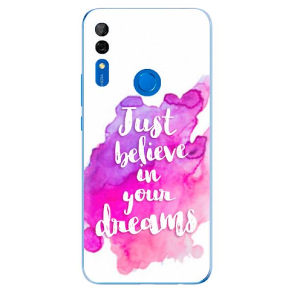 Odolné silikonové pouzdro iSaprio - Believe - Huawei P Smart Z